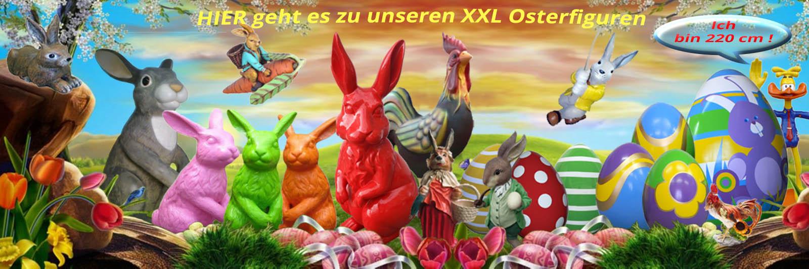 XXL Osterfiguren