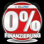 Jetzt 0% Finanzierung beim Kauf unserer Produkte sichern