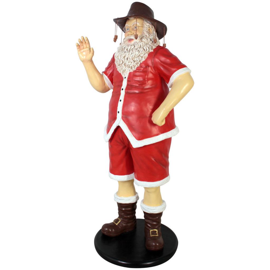 große weihnachtsmänner als dekofiguren fürs geschäft - walt deko, Wohnzimmer