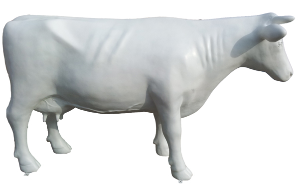 Kuhfiguren als Rohlinge